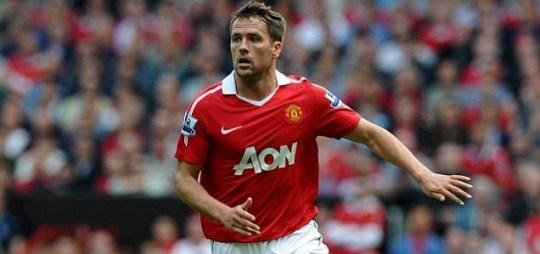 Manchester United's striker Michael Owen
