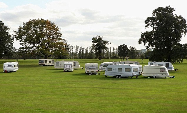 Dale farm travellers