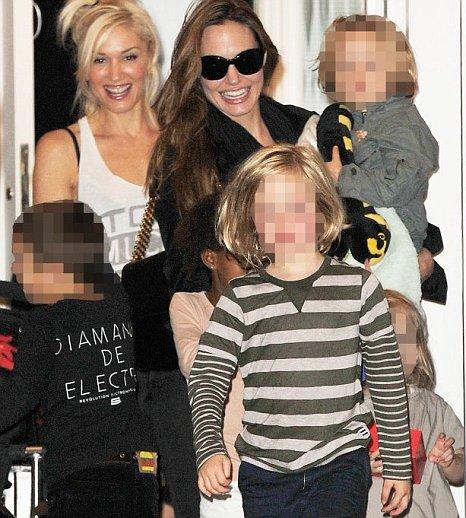 ANGELINA JOLIE, GWEN STEFANI AND KIDS