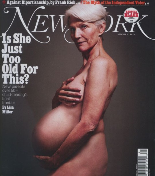 Demi Moore, New York magazine cover