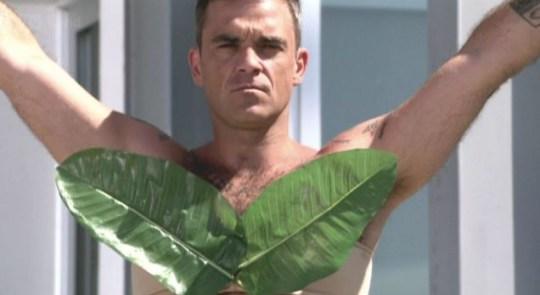 X Factor Robbie Williams