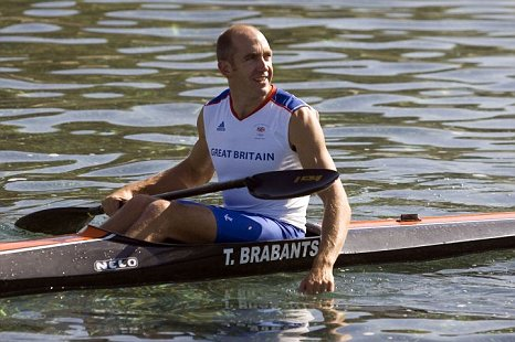 Tim Brabants took gold in the K1 1,000m event in Beijing in 2008 (Picture: Gretel Ensignia)