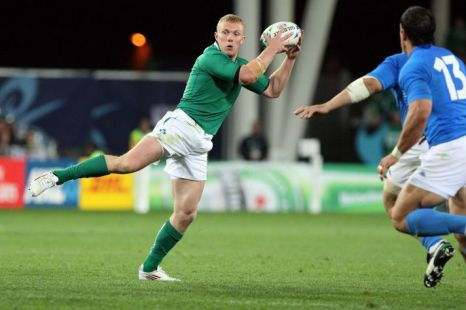 Keith Earls, Ireland, Rugby World Cup 2011