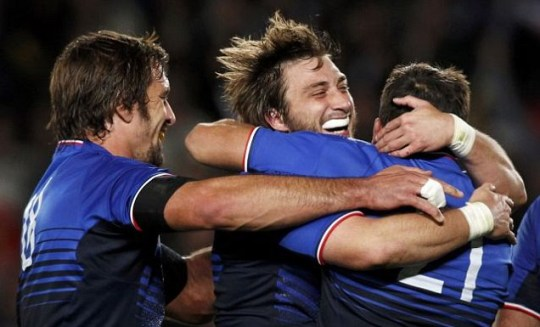 France beat England at 2011 Rugby World Cup