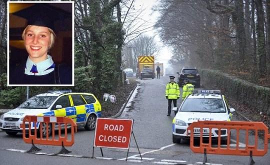 Joanna Yeates Vincent Tabak murder trial scene in Bristol road