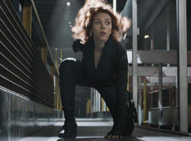 Scarlett Johansson, The Avengers