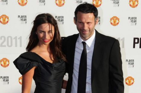 Ryan Giggs blazing street row, Stacey Giggs