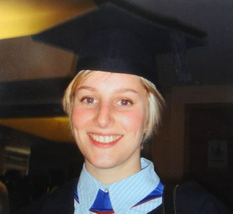 Joanna Yeates - taken at her graduation in late November 2010 (Picture: PA)