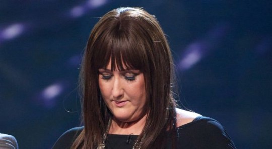 Sami Brookes looked dejected as she heard that her X Factor dream was over. (Picture: Rex)