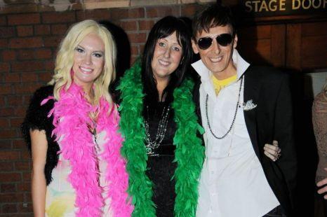 X Factor, Johnny Robinson, Kitty Brucknell and Sami Brookes