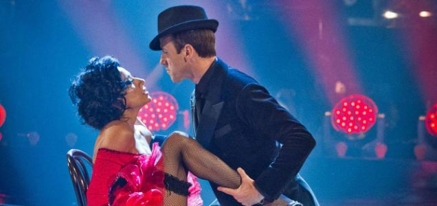 Anton Du Beke and Nancy Dell'Olio , strictly come dancing