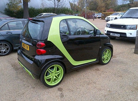 Andre Santos' Smart Car