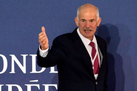 George Papandreou, Greek referendum