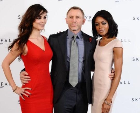 Bérénice Marlohe, Daniel Craig, Naomie Harris, James Bond, Skyfall