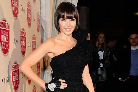 Former X Factor judge Dannii Minogue Metro celebrity of the year