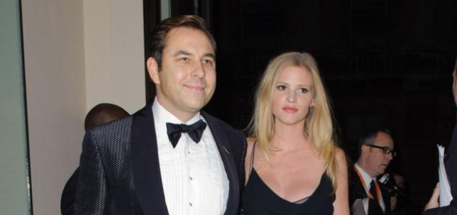 David Walliams and Lara Stone arrive at the George Michael Symphonica concert at the Royal Opera House in Covent Garden, London, in aid of the Elton John Aids Foundation. PRESS ASSOCIATION Photo. Picture date: Sunday November 6, 2011. The concert forms part of his 47-date Symphonica tour of Europe, which has already brought drama with his admission to fans at a sell-out Prague concert in August that he and long-term partner Kenny Goss had split up. All proceeds raised from tonight's black tie charity event will go to the Elizabeth Taylor Memorial Fund recently created by the foundation. See PA story SHOWBIZ Michael. Photo credit should read: PA Wire