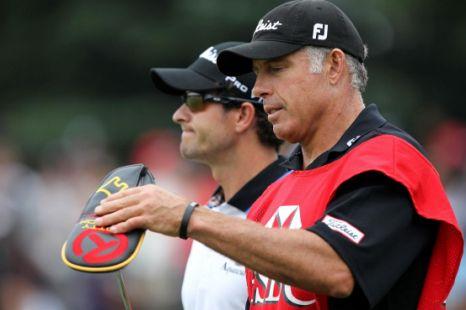 Steve Williams, Greg Norman, Adam Scott, Tiger Woods, golf.
