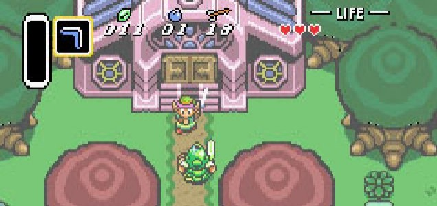The Legend Of Zelda: A Link To The Past - pink hair is coming back