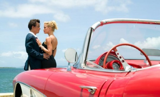 Johnny Depp, Amber Heard, The Rum Diary