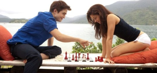 Robert Pattinson, Kristen Stewart, The Twilight Saga: Breaking Dawn – Part 1