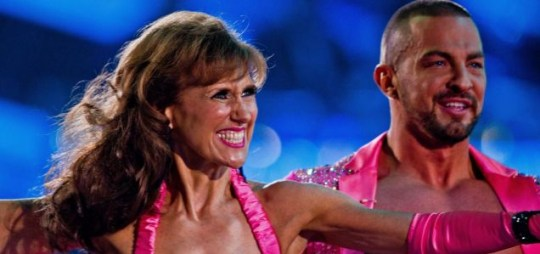 Anita Dobson and Robin Windsor dancing the Samba to Come On Eileen by Dexys Midnight Runners