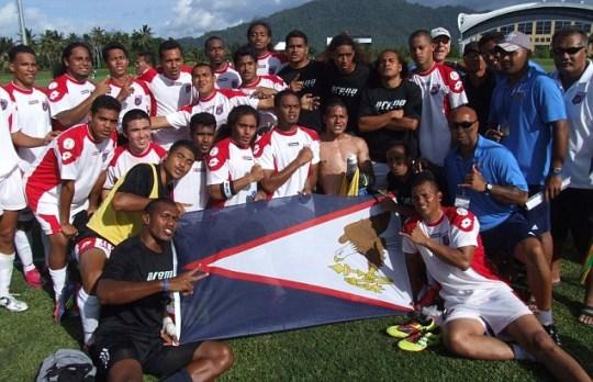 American Samoa win