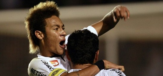 Santos' Neymar