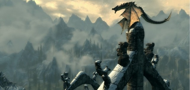 The Elder Scrolls V: Skyrim - no more backwards dragons, unless you want them…