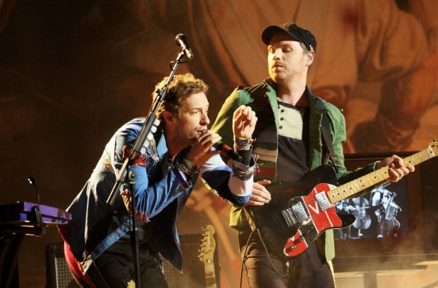Chris Martin, Will Champion, Coldplay