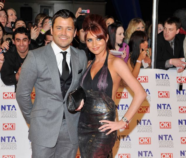 Mark Wright and Amy Childs