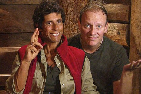 Fatima Whitbread (left) and Anthony Cotton have left the jungle