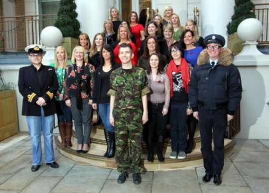 The Choir: Military Wives, Gareth Malone, X Factor, Chris Evans