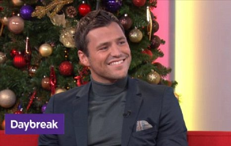 Mark Wright is to become a Daybreak regular. (Picture: ITV)