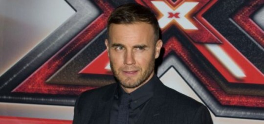 Gary Barlow arrives at Wembley arena before the X Factor final