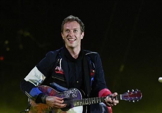 Chris Martin Coldplay