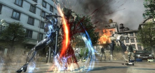 Metal Gear Rising - for a ninja Raiden isn't very stealthy
