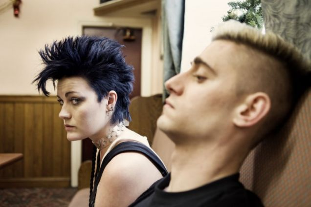 Kelly and Harvey in This Is England '88.