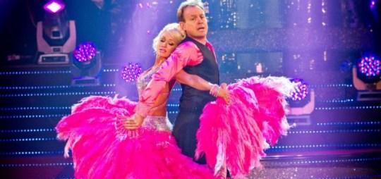 Jason Donovan and Kristina Rhianoff Strictly Come Dancing