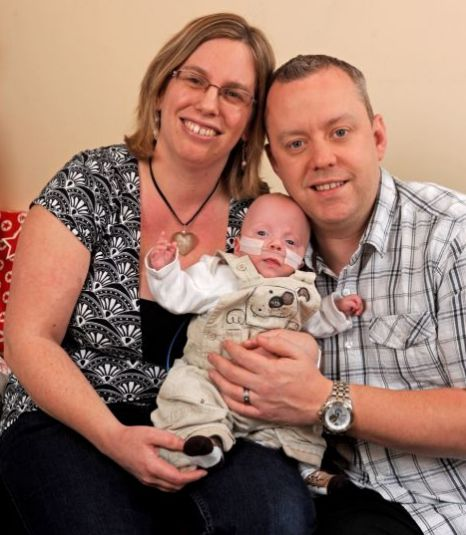 Miracle baby Harrison Cooper
