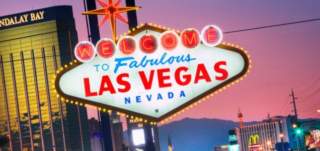 Las Vegas, New Year's Eve.