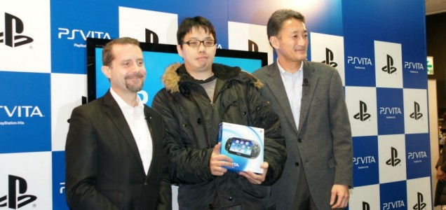 The world's first PS Vita owner
