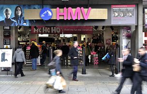 HMV posted a pre-tax loss of £36.4m for the six months to the end of October