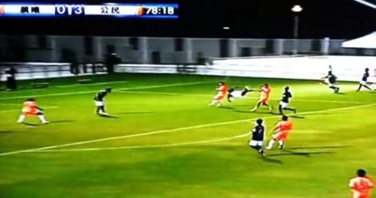 Festus Baise, best own goal ever.