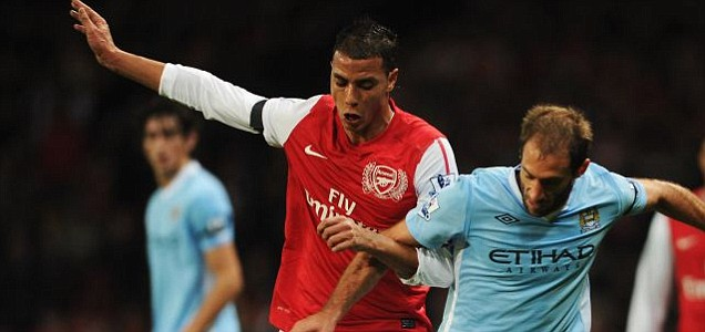 Marouane Chamakh of Arsenal