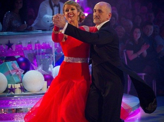 Barry McGuigan and Erin Boag Strictly Christmas special