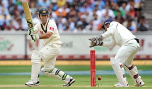 Ricky Ponting rescued Australia v India Boxing Day Test
