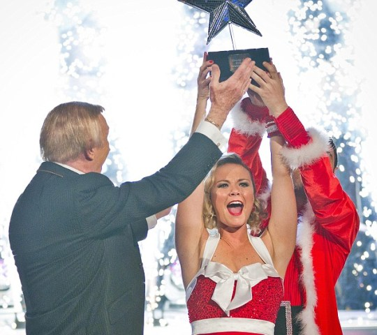 Strictly Christmas special Charlie Brooks