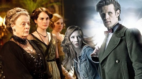 Downton Abbey and Doctor Who
