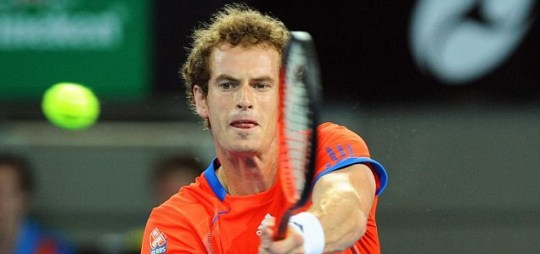 Andy Murray of Great Britian