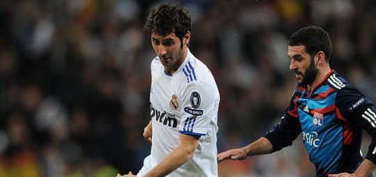 Esteban Granero of Real Madrid